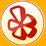 small Yelp! logo